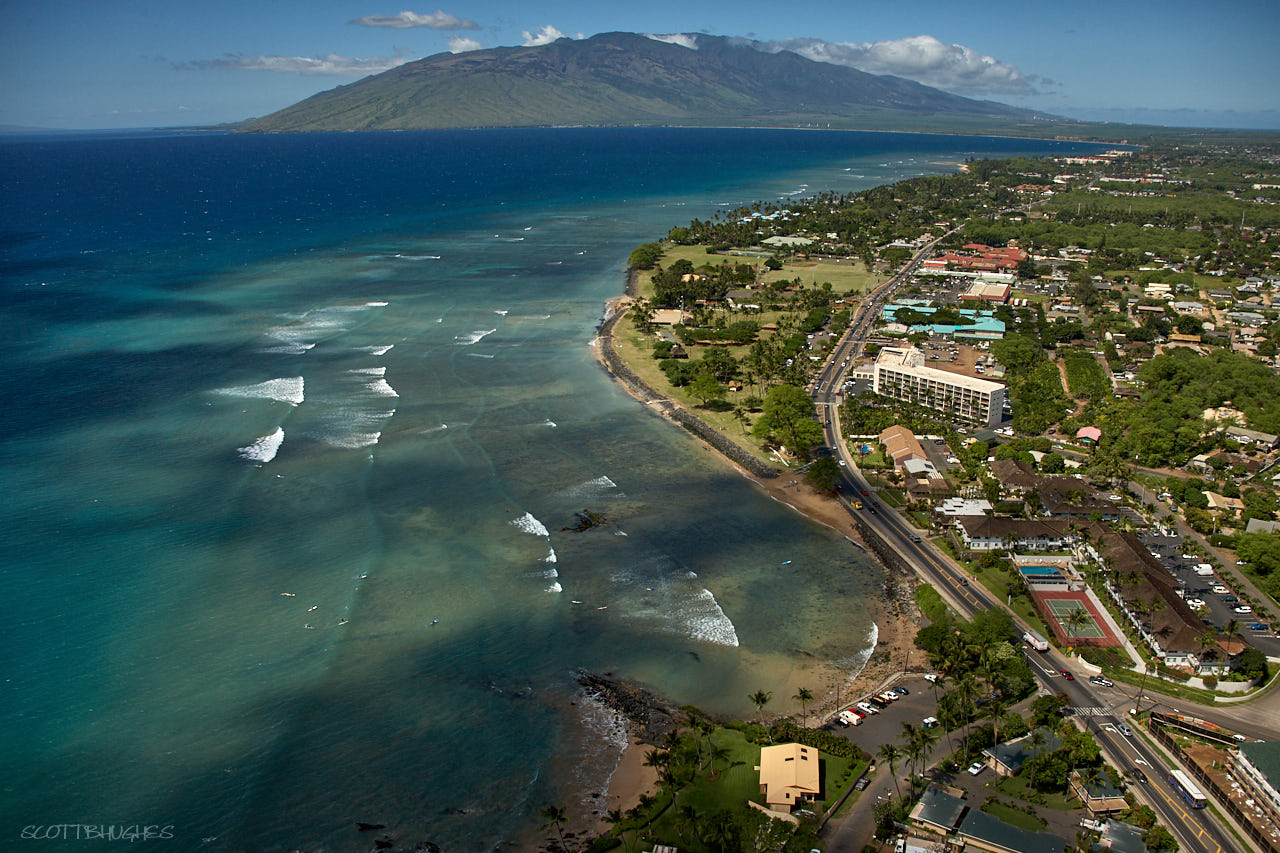 Aerial - Kihei, The Cove and Kalama Areas