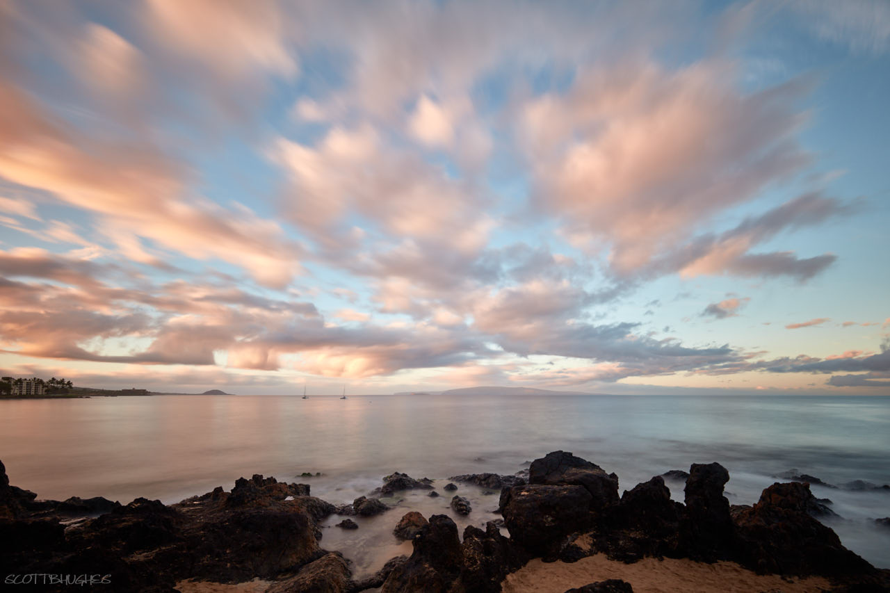 Kihei Beach - View of distant Kaho´olawe