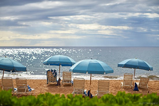 Wailea Beach Umbrellas