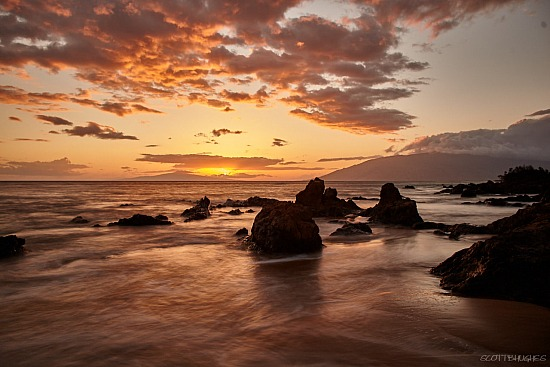 Sunset - Charley Young Beach Maui