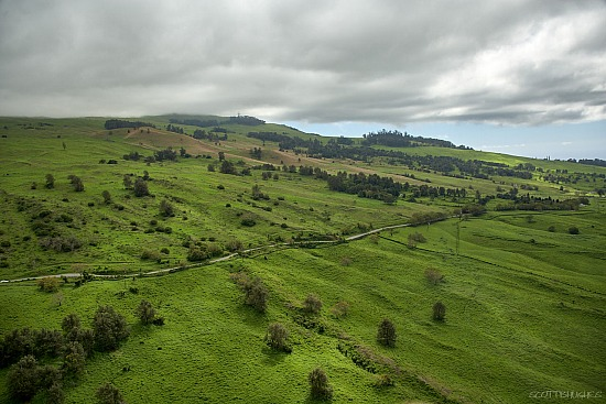 Aerial - Upcountry Maui