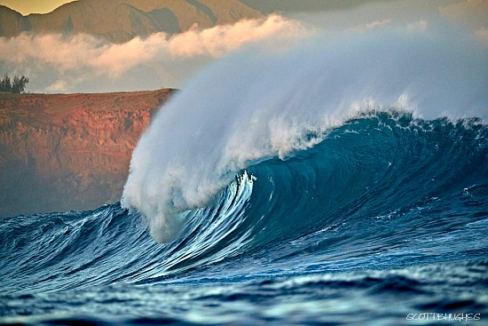 Early Morning Peahi Coast, Maui